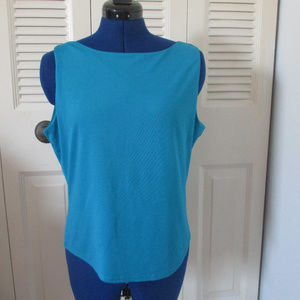 New York and Co XL Sleeveless Shirt Blouse GUC
